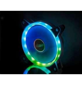 AKASA LED ventilátor Vegas AR7 / AK-FN099 / 120mm / 3pin FAN / 4pin RGB led / RGB LED