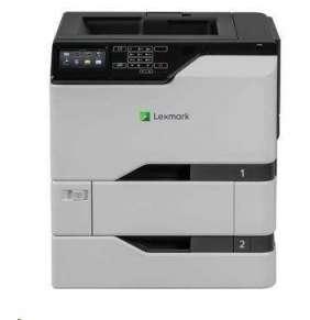 LEXMARK tiskárna CS720dte, A4 COLOR LASER, 1024MB, USB/LAN, duplex, dotykový LCD, 2x zásobník papíru
