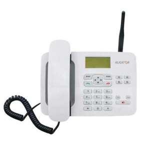 ALIGATOR T100 Stolní telefon na simkartu White