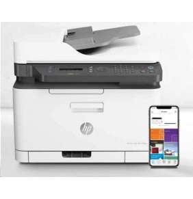 HP Color Laser 179fnw/ A4/ PSCF/ 18/4/ 600x600dpi/ USB/ WiFi/ LAN/ ePrint/ AirPrint