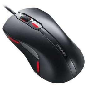 CHERRY myš MC 4000, USB, drátová, podsvícená (2 barvy), černá