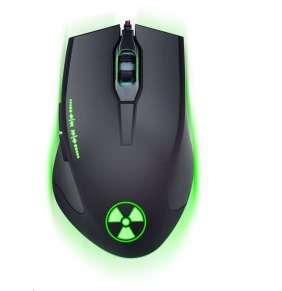 CONNECT IT BATTLE RNBW optická herní myš, vícebarevné podsvícení, USB