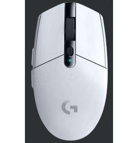 Logitech myš Gaming G305 optická 6 tlačítek 12000dpi - bílá - bezdrátová