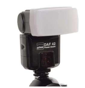 Doerr SOFT BOUNCER L - 65x44mm - pro Canon 580EX / 580EX II, Metz 50 AF-1, 58 AF-2, Sony HVL-F58AM, ...