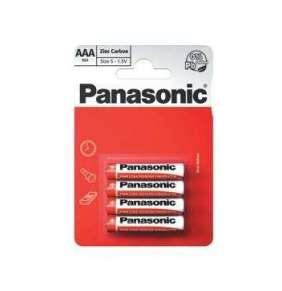 PANASONIC Zinkouhlíkové baterie Red Zinc R03RZ/4BP EU AAA 1,5V (Blistr 4ks)