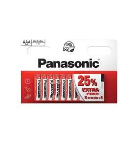 PANASONIC Zinkouhlíkové baterie Red Zinc R03RZ/10HH AAA 1,5V (Blistr 10ks)