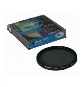 Braun filtr C-PL StarLine 52 mm
