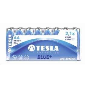 TESLA zinkouhlíkové  baterie  AA BLUE+ 1,5V 900mAh 48 ks