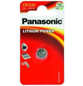 PANASONIC Lithiová baterie (knoflíková) CR-1220EL/1B  3V (Blistr 1ks)