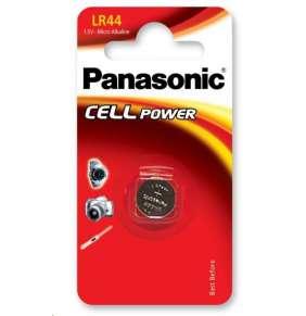 PANASONIC Alkalická MIKRO baterie  LR-44EL/1B  1,5V (Blistr 1ks)