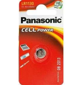 PANASONIC Alkalická MIKRO baterie  LR-1130EL/1B  1,5V (Blistr 1ks)