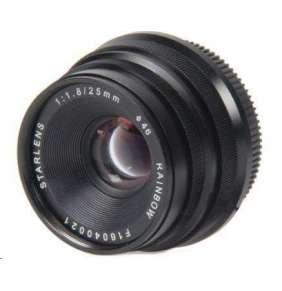 StarLens objektiv 25mm F1,8 E Mount černý