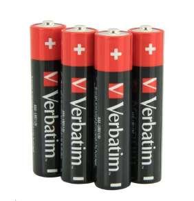 VERBATIM Alkalické baterie AAA, 4 Pack - Shrink, LR3