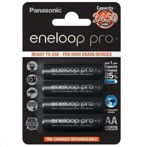 PANASONIC eneloop Pro Nabíjecí Baterie AA 2500mAh 1,2V  HR-3UWXB-4BP (Blistr 4ks)