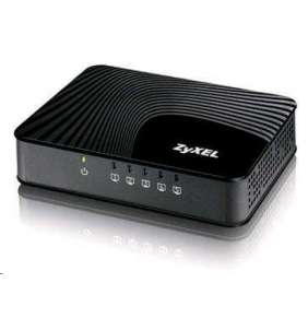 "ZyXEL GS-105Sv2, 5-port 10/100/1000Mbps Gigabit Ethernet switch, 3 QoS ports (1port ""High"", 2ports ""Middle""), 802.3az ("