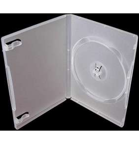 PP box 1DVD super clear  *(14mm)* 100-pack