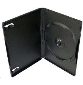 COVER IT Krabička na 1 DVD 14mm černý - karton 100ks