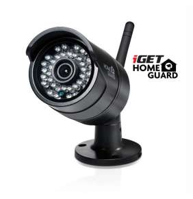 iGET HGNVK88304 - CCTV bezdrátový WiFi set FullHD 1080p, 8CH NVR + 4x IP kamera 1080p, i RJ45