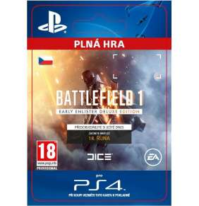 ESD SK PS4 - Battlefield 1 Early Enlister Deluxe Edition