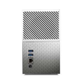 """WD My Cloud Home Duo 8TB / Externí 3,5"""" / LAN / bílo-stříbrný"""