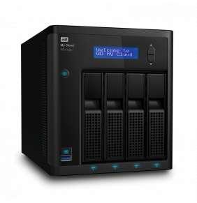 """WD My CLOUD PR 4100, 32 TB (4x8TB) 3,5"""", RJ45, NAS"""