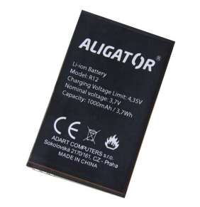 Aligator baterie R12 eXtremo Li-Ion 1000mAh bulk
