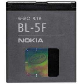 Nokia baterie BL-5F Li-Ion 950 mAh - bulk