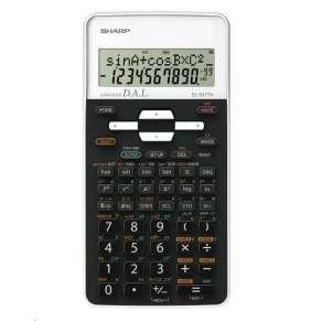 SHARP kalkulačka - EL531THWH - bílá - box