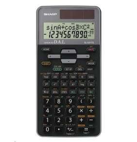 SHARP kalkulačka - EL531TGGY - šedá - box - Solární + baterie