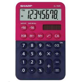 SHARP kalkulačka - EL760RBRB - Stolní kalkulátor