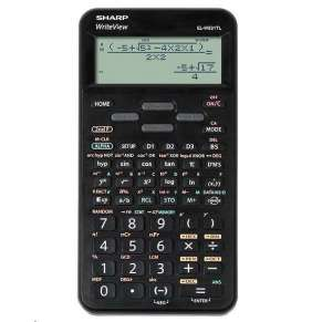SHARP kalkulačka - ELW531TLBBK - Blister - černá