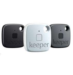Gigaset Keeper- lokalizační přívěsek - set 2x černý, 1x bílý