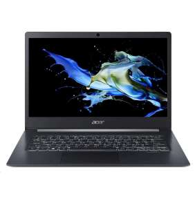"ACER NTB Travel Mate X5 (TMX514-51T-72TS) - i7-8565U@1.8GHz,14"" FHD IPS,16GB,512SSD,HD graphics,čt.pk,backl,DP,W10P"