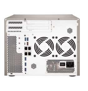 QNAP™  TS-877-1700-16G 6-Bay TurboNAS, SATA 6G, AMD Ryzen™ 7 1700 8-core