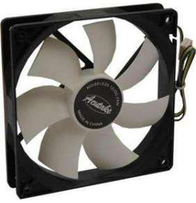 ACUTAKE ACU-FAN120  PWM (White Wing Fan De Luxe)