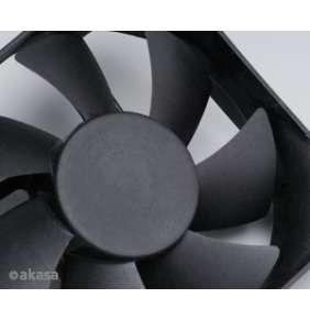 přídavný ventilátor Akasa 80x80x25 black OEM