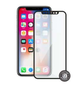 Screenshield APPLE iPhone X/Xs Tempered Glass protection (full COVER black)