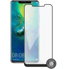 Screenshield HUAWEI Mate 20 Pro Tempered Glass protection (full COVER black)