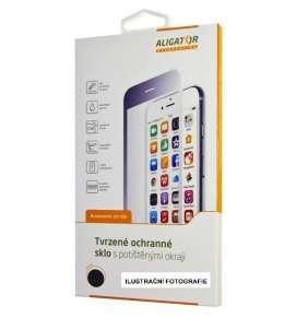 Aligator ochranné sklo PRINT Samsung A40, černá