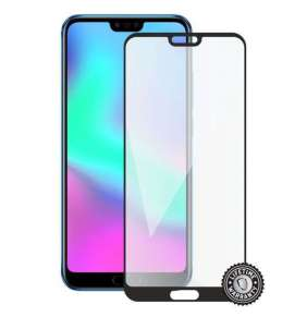 Screenshield HUAWEI Honor 10 Tempered Glass protection (full COVER black)