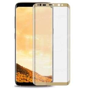 3D tvrzené sklo Samsung Galaxy S8 (G950F), gold