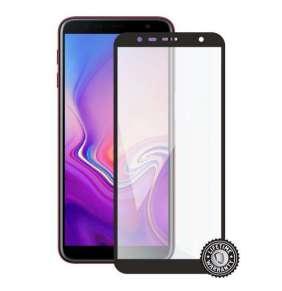 Screenshield ochrana displeje Tempered Glass pro SAMSUNG J610 Galaxy J6+ 2018) (full cover), černá