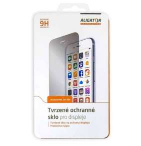 Aligator Ochrana displeje GLASS FULL COVER 3D Apple iPhone X černá