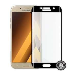 Screenshield™ Temperované sklo SAMSUNG A520 Galaxy A5 (2017) (full COVER BLACK metalic frame)