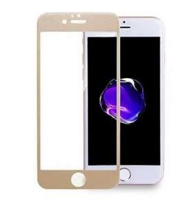 3D tvrzené sklo iPhone 6,6s, gold
