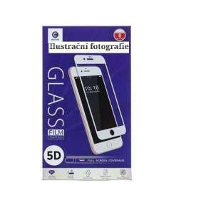 Mocolo 5D Tvrzené Sklo White pro iPhone XS Max