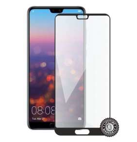 Screenshield HUAWEI P20 Pro Tempered Glass protection (full COVER black)