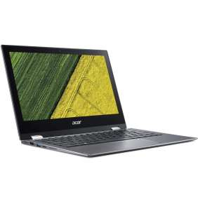 """Acer Spin 1 (SP111-34N-P8A4) Pentium Silver N5000/4GB+N/A/eMMC 64GB+N/A/HD Graphics/11.6"""" Multi-touch FHD IPS/BT/W10 Home"""