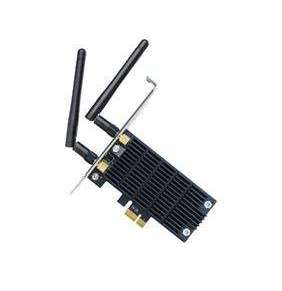 TP-Link Archer T6E Dual Band Wifi PCI Express Adapter, 867Mbps 5GHz + 400Mbps 2,4GHz, 802.11ac/a/b/g/n, 2x ant