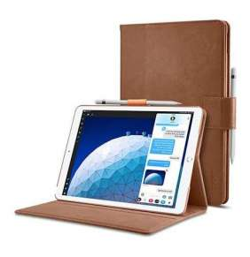 "Spigen puzdro Stand Folio pre iPad Air 10.5"" - Brown"